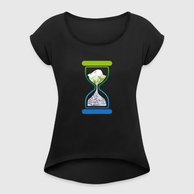 Hourglass - Women's T-shirt with rolled up sleeves