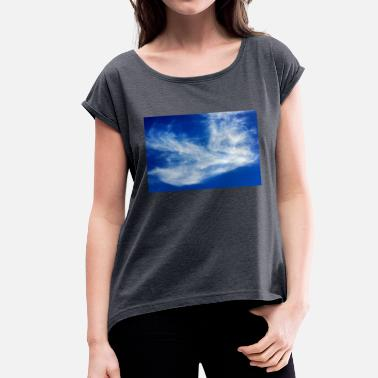 Blue Sky Blue sky - Women's T-Shirt with rolled up sleeves