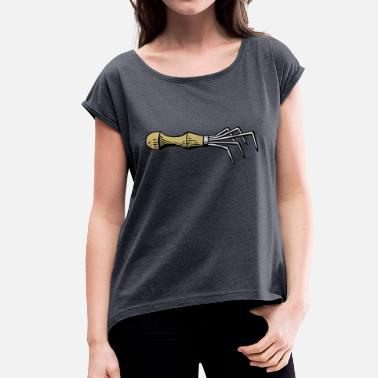 Tool Tool - Women's T-Shirt with rolled up sleeves