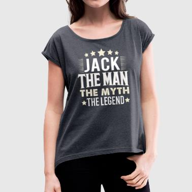 Jacked Jack - Women's T-Shirt with rolled up sleeves