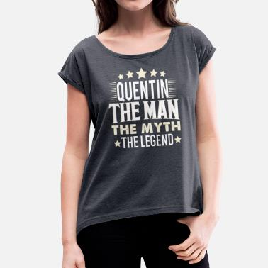 Quentin Quentin - Women's T-Shirt with rolled up sleeves