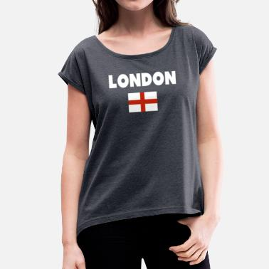 South London London - Women's T-Shirt with rolled up sleeves