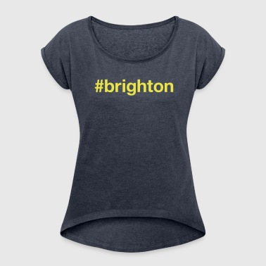 BRIGHTON - Women's T-Shirt with rolled up sleeves