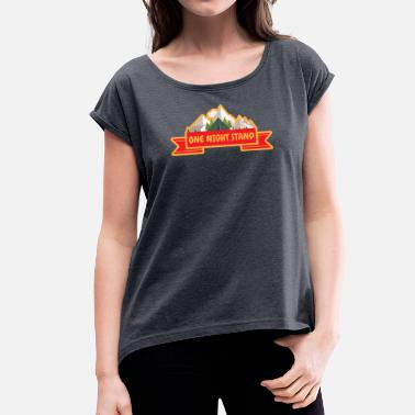 Backpacker Backpacker - Vrouwen T-shirt met opgerolde mouwen
