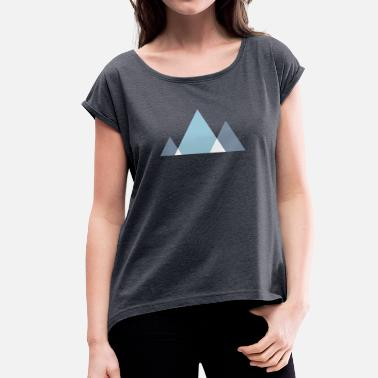 Triangle Style - Women's Rolled Sleeve T-Shirt