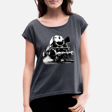 locomotion - Women's T-Shirt with rolled up sleeves