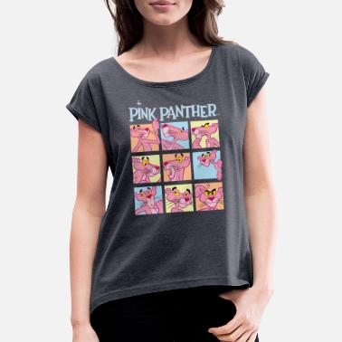 Pink Panther Expressions - Women's Rolled Sleeve T-Shirt