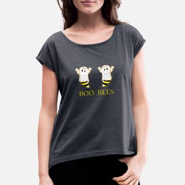 Baem boo bees merch - Women's Rolled Sleeve T-Shirt