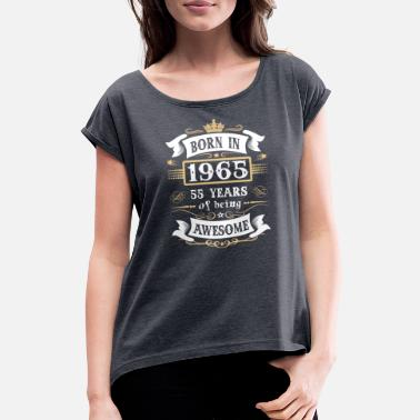 March 55th birthday - Women's Rolled Sleeve T-Shirt