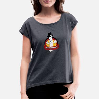 Sausage sausage - Women's Rolled Sleeve T-Shirt