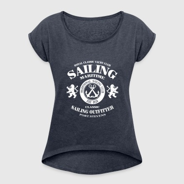 Maritime Sailing - Women's T-shirt with rolled up sleeves