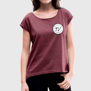Tv Series Riverdale TV Series Logo - Women's T-Shirt with rolled up sleeves