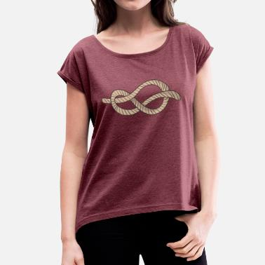 Node node - Women's T-Shirt with rolled up sleeves