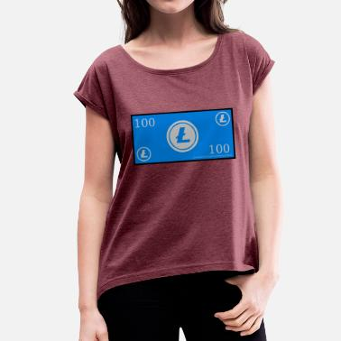 Certificate LTC certificate - Women's T-Shirt with rolled up sleeves