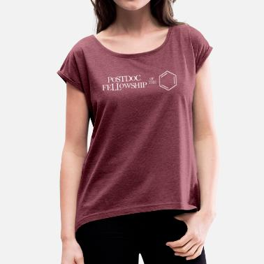 Fellowship Postdoc Fellowship of the Ring - Women's T-Shirt with rolled up sleeves
