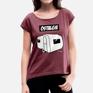 Ostalgie Ostalgie QEK Junior - Women's T-Shirt with rolled up sleeves