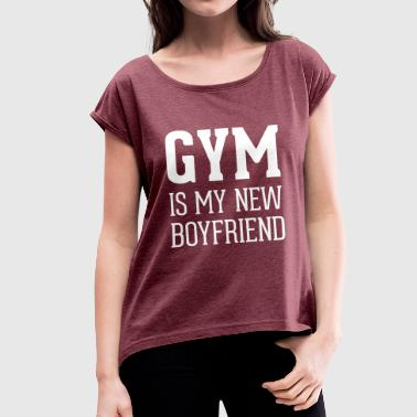 Gym - Women's T-shirt with rolled up sleeves