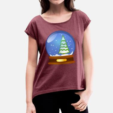 Snowballs Snowball - Women's T-Shirt with rolled up sleeves