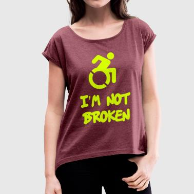 Broken - Women's T-Shirt with rolled up sleeves
