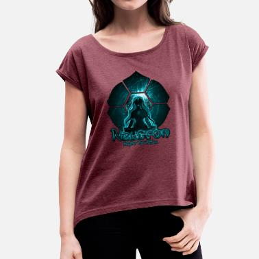 neutron - Women's T-Shirt with rolled up sleeves
