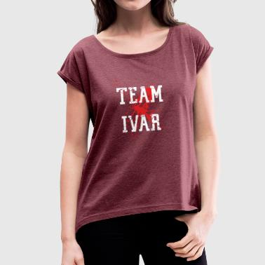 Ivar inverted team ivar - Women's T-Shirt with rolled up sleeves