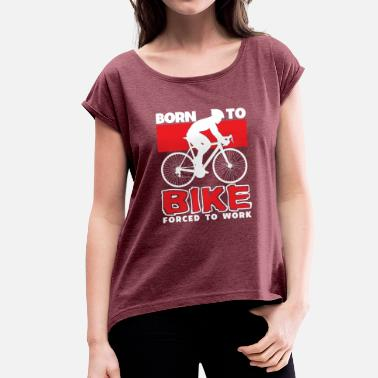 Single Speed Mountain Bike Single Speed Fixie Gift - Maglietta da donna con risvolti