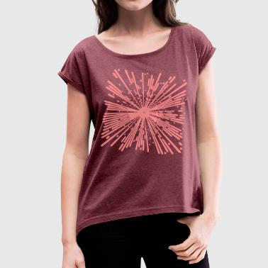 Supernova supernova - Women's T-Shirt with rolled up sleeves