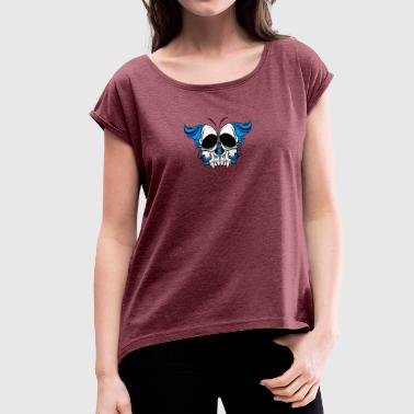 Butterfly - Women's T-shirt with rolled up sleeves