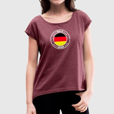 Bochum BOCHUM - Women's T-Shirt with rolled up sleeves