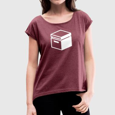 Archive Old Fashioned Archive Folder - Women's T-Shirt with rolled up sleeves