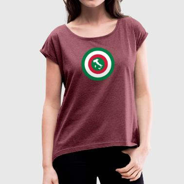 Italia - Women's T-Shirt with rolled up sleeves