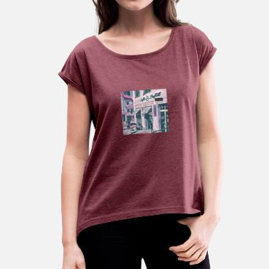Creative City Creative art - Women's T-Shirt with rolled up sleeves