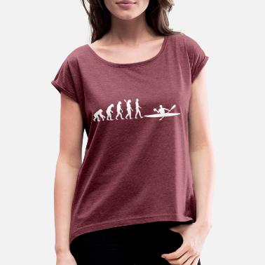 Evolution Canoe Evolution Canoe Polo - Women's Rolled Sleeve T-Shirt