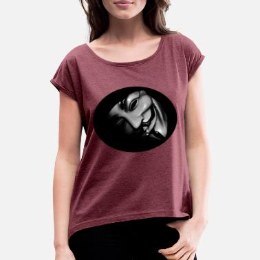 Anonymous Anonymous - Women's Rolled Sleeve T-Shirt