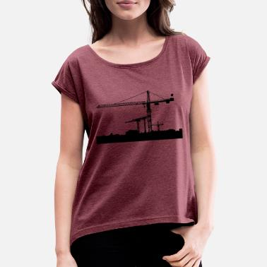 Industry Industry - Women's T-Shirt with rolled up sleeves