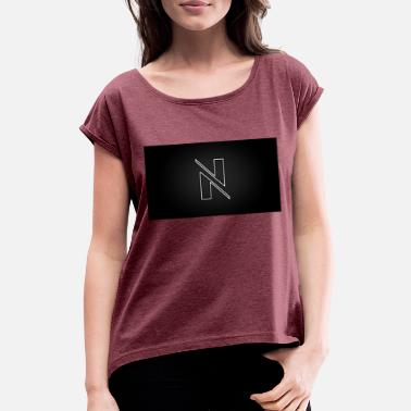 Led Nobzn LED - Women's Rolled Sleeve T-Shirt