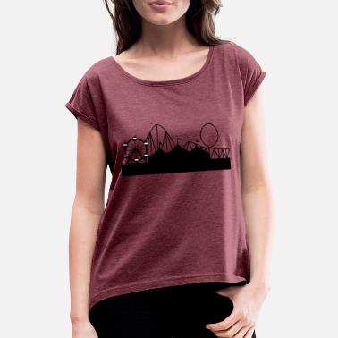 Funfair funfair - Women's Rolled Sleeve T-Shirt