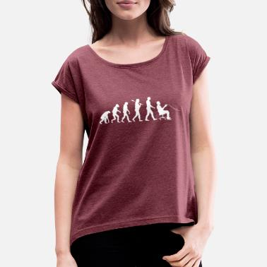 Video Gamer Evolution Shirt · Video giochi · Computer - Maglietta con risvolti donna