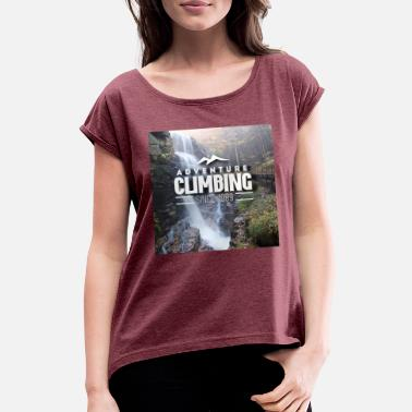 T-shirt design - Women's Rolled Sleeve T-Shirt