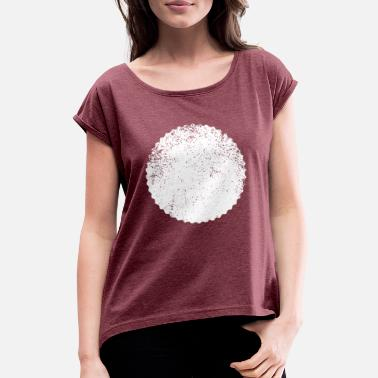 Shape SHAPES SHAPE GRUNGE - Women's Rolled Sleeve T-Shirt