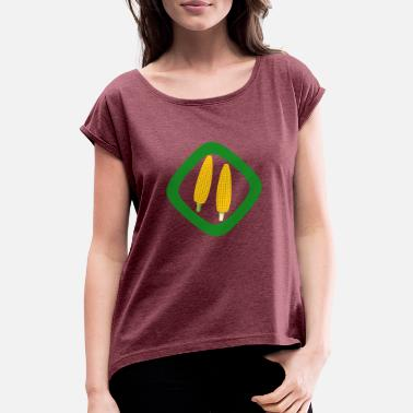 Collections collection but - Women's T-Shirt with rolled up sleeves