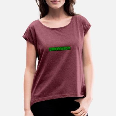 Alligator alligator - Women's T-Shirt with rolled up sleeves