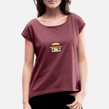 Luffy Baby Luffy - Women's Rolled Sleeve T-Shirt