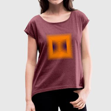 Fork - Women's T-shirt with rolled up sleeves