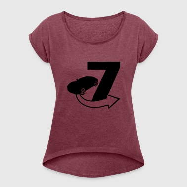 Seven / Fast and Furious - Women's T-shirt with rolled up sleeves