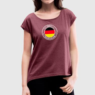 MÜLHEIM AN DER RUHR - Women's T-shirt with rolled up sleeves