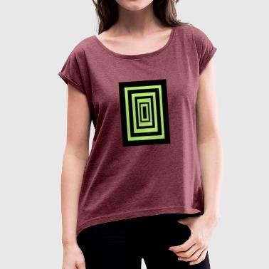 Random - Women's T-shirt with rolled up sleeves