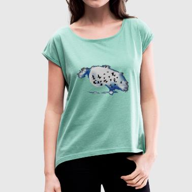 Swarm swarm - Women's T-Shirt with rolled up sleeves