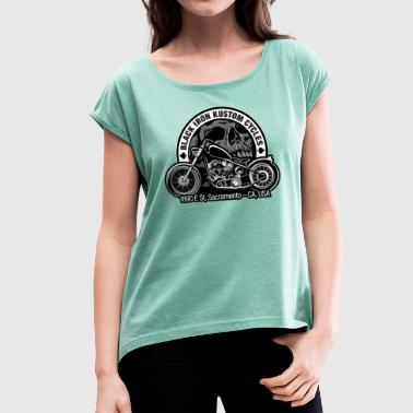 chopper - Women's T-Shirt with rolled up sleeves