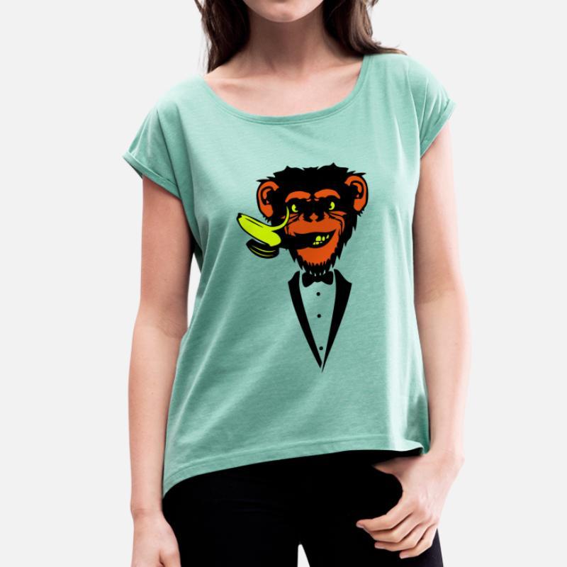 Commander Banane Shirts En LigneSpreadshirt T Chimpanzés À SUqzVMpG